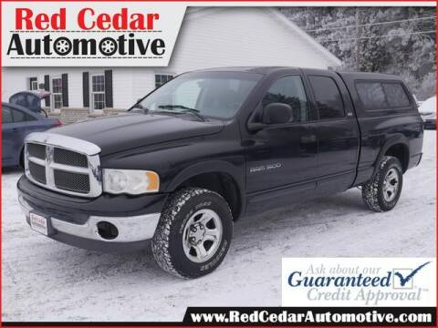 2002 Dodge Ram Pickup 1500 for sale at Red Cedar Automotive in Menomonie WI