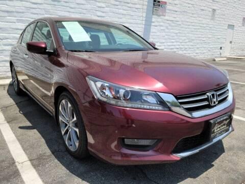 2014 Honda Accord for sale at ADVANTAGE AUTO SALES INC in Bell CA