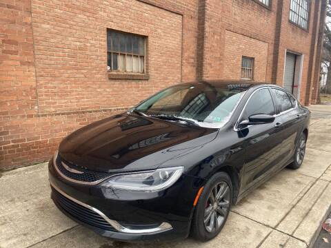 2015 Chrysler 200 for sale at Domestic Travels Auto Sales in Cleveland OH