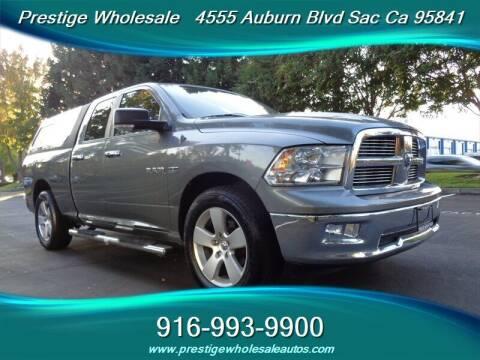 2010 Dodge Ram Pickup 1500 for sale at Prestige Wholesale in Sacramento CA