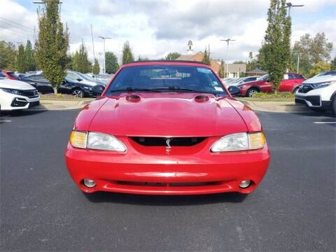 1997 Ford Mustang SVT Cobra for sale at Southern Auto Solutions - Georgia Car Finder - Southern Auto Solutions - Lou Sobh Honda in Marietta GA