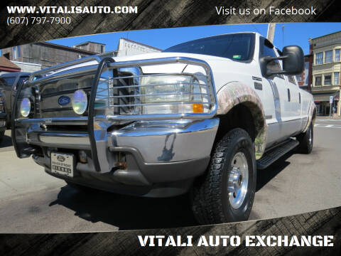 2002 Ford F-250 Super Duty for sale at VITALI AUTO EXCHANGE in Johnson City NY