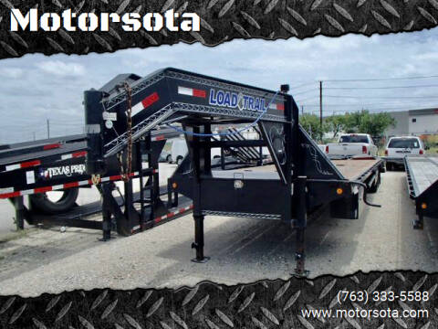2018 Load Trail 40FT Flatbed  for sale at Motorsota in Becker MN