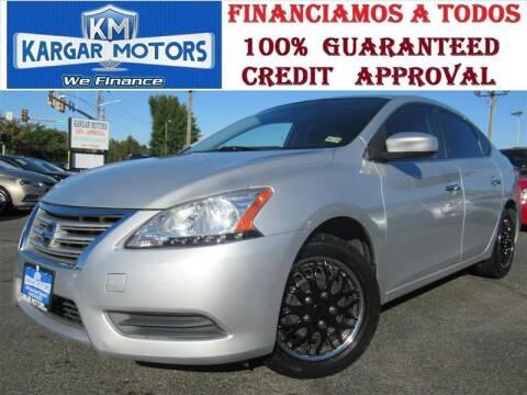 2013 Nissan Sentra for sale at Kargar Motors of Manassas in Manassas VA