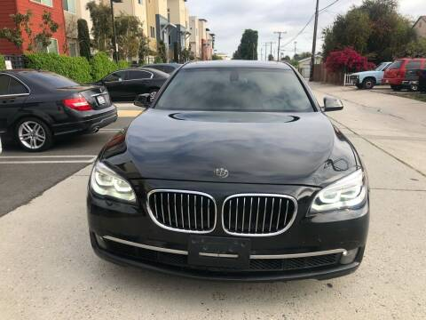 2013 BMW 7 Series for sale at Bell Auto Inc in Long Beach CA