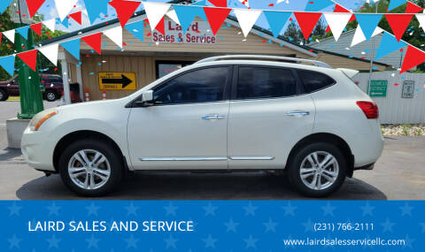 2012 Nissan Rogue for sale at LAIRD SALES AND SERVICE in Muskegon MI