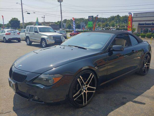 2005 BMW 6 Series for sale at L&M Auto Import in Gastonia NC