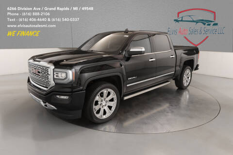 2018 GMC Sierra 1500 for sale at Elvis Auto Sales LLC in Grand Rapids MI