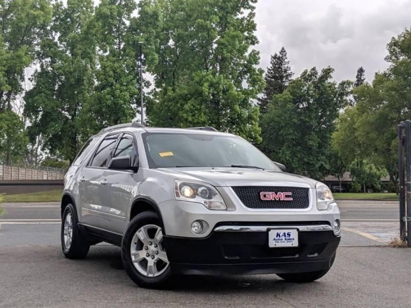 2010 GMC Acadia for sale at KAS Auto Sales in Sacramento CA