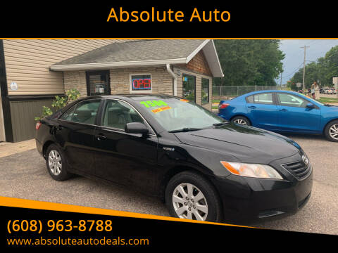 2008 Toyota Camry Hybrid for sale at Absolute Auto in Baraboo WI