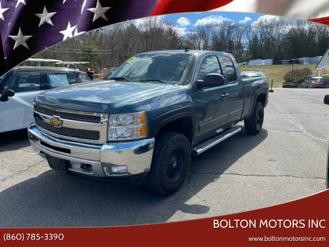 2012 Chevrolet Silverado 1500 for sale at BOLTON MOTORS INC in Bolton CT
