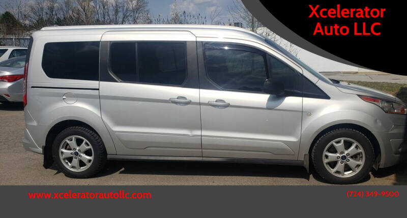 2016 Ford Transit Connect Wagon for sale at Xcelerator Auto LLC in Indiana PA