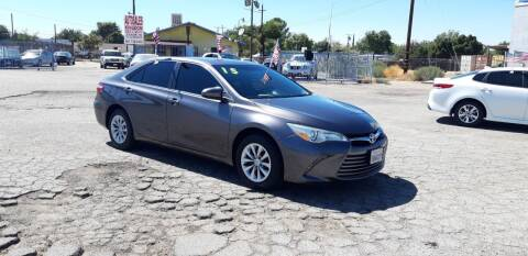 2015 Toyota Camry for sale at Autosales Kingdom in Lancaster CA