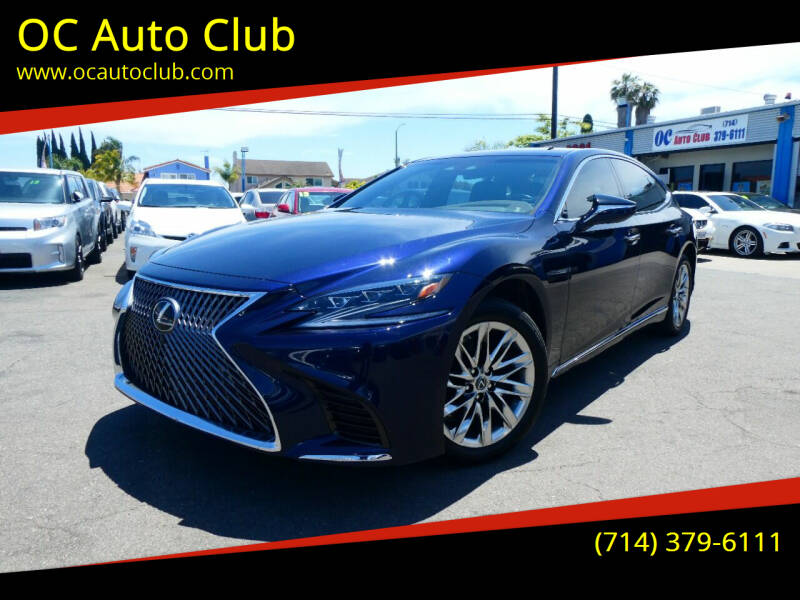 2018 Lexus LS 500 for sale at OC Auto Club in Midway City CA