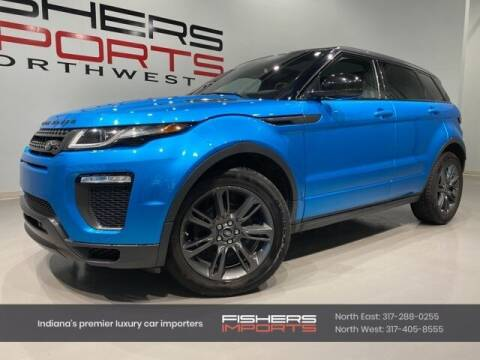 2018 Land Rover Range Rover Evoque for sale at Fishers Imports in Fishers IN