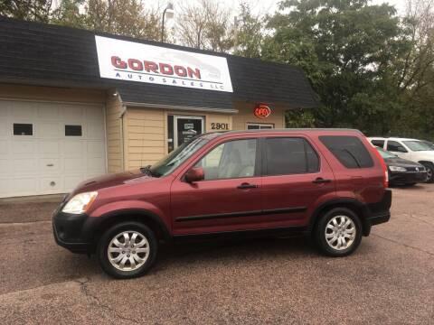 2006 Honda CR-V for sale at Gordon Auto Sales LLC in Sioux City IA