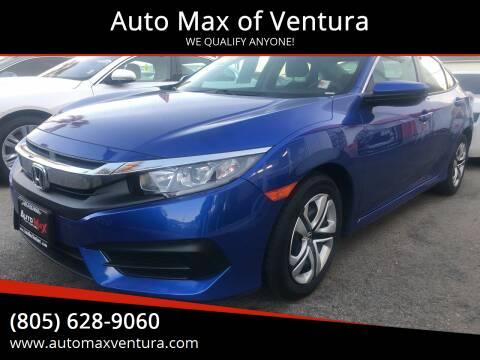2018 Honda Civic for sale at Auto Max of Ventura in Ventura CA