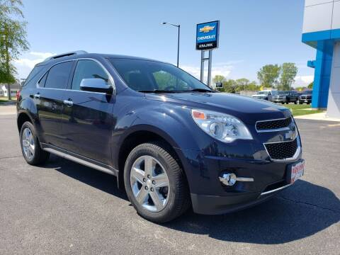2015 Chevrolet Equinox for sale at Krajnik Chevrolet inc in Two Rivers WI