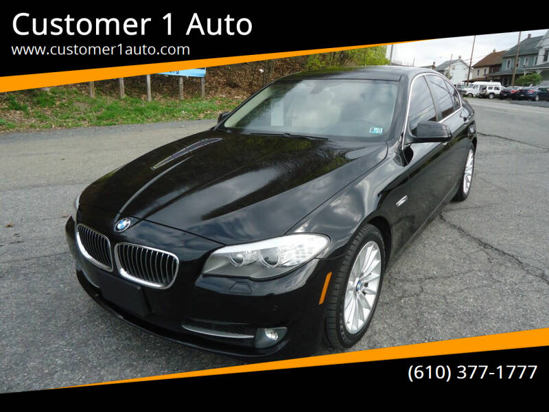 2013 BMW 5 Series for sale at Customer 1 Auto in Lehighton PA