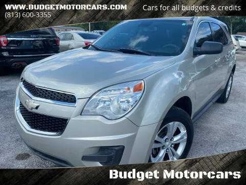 2014 Chevrolet Equinox for sale at Budget Motorcars in Tampa FL
