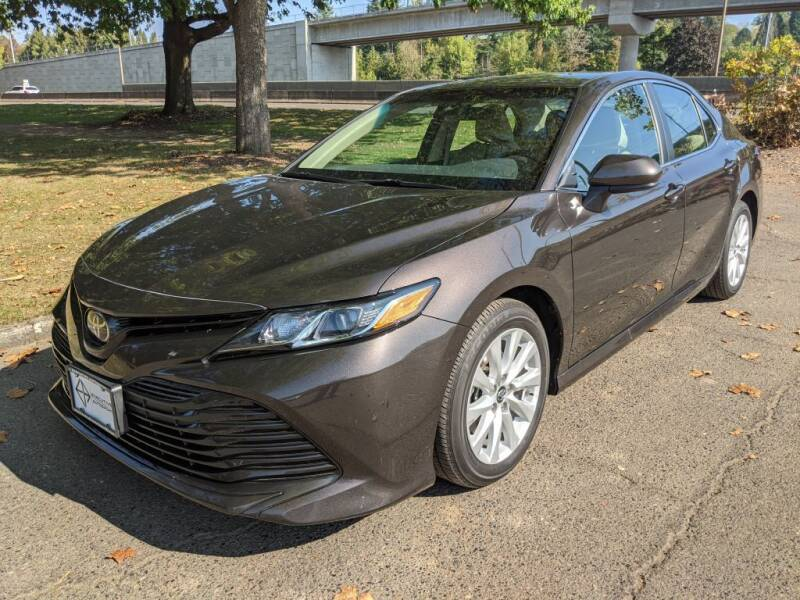 2018 Toyota Camry for sale at EXECUTIVE AUTOSPORT in Portland OR