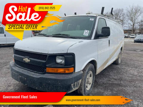 2007 Chevrolet Express Cargo for sale at Government Fleet Sales in Kansas City MO