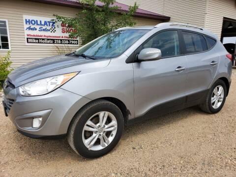 2013 Hyundai Tucson for sale at Hollatz Auto Sales in Parkers Prairie MN