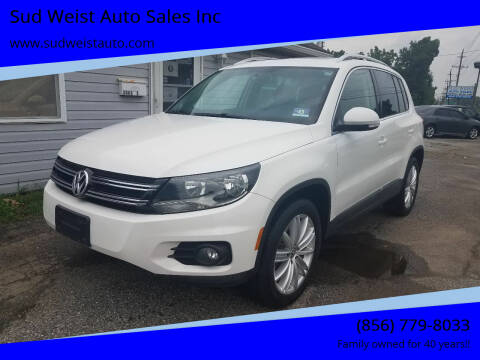 2014 Volkswagen Tiguan for sale at Sud Weist Auto Sales Inc in Maple Shade NJ