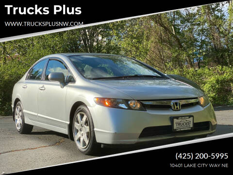 2008 Honda Civic for sale at Trucks Plus in Seattle WA