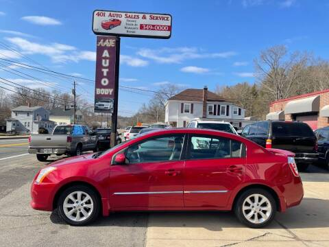 2012 Nissan Sentra for sale at 401 Auto Sales & Service in Smithfield RI