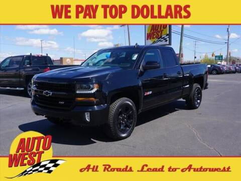 2017 Chevrolet Silverado 1500 for sale at Autowest Allegan in Allegan MI