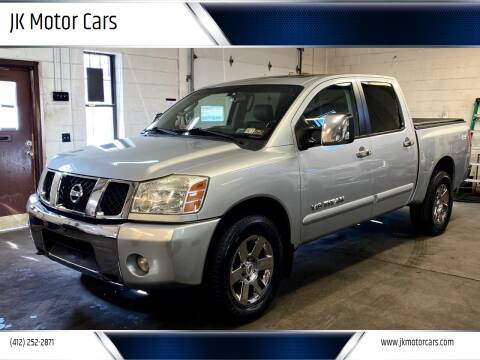 2007 Nissan Titan for sale at JK Motor Cars in Pittsburgh PA