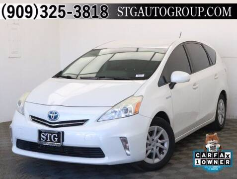 2013 Toyota Prius v for sale at STG Auto Group in Montclair CA