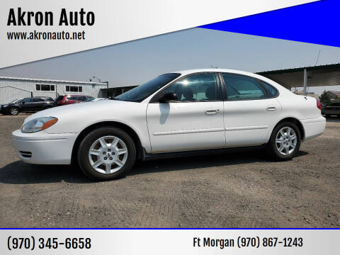 2007 Ford Taurus for sale at Akron Auto in Akron CO