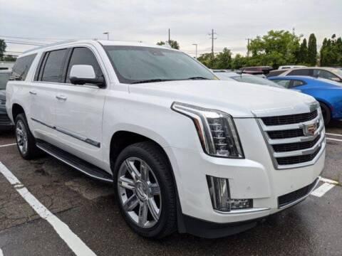 2016 Cadillac Escalade ESV for sale at Jimmys Car Deals at Feldman Chevrolet of Livonia in Livonia MI