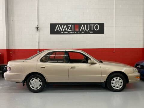 1994 Toyota Camry for sale at AVAZI AUTO GROUP LLC in Gaithersburg MD