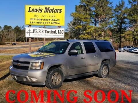2007 Chevrolet Suburban for sale at Lewis Motors LLC in Deridder LA