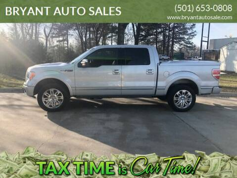 2009 Ford F-150 for sale at BRYANT AUTO SALES in Bryant AR