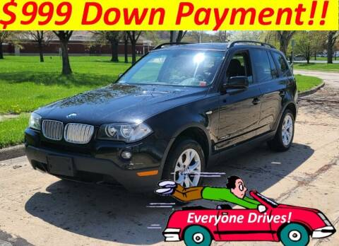 2009 BMW X3 for sale at World Automotive in Euclid OH