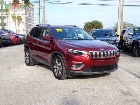 2020 Jeep Cherokee for sale at GATOR'S IMPORT SUPERSTORE in Melbourne FL
