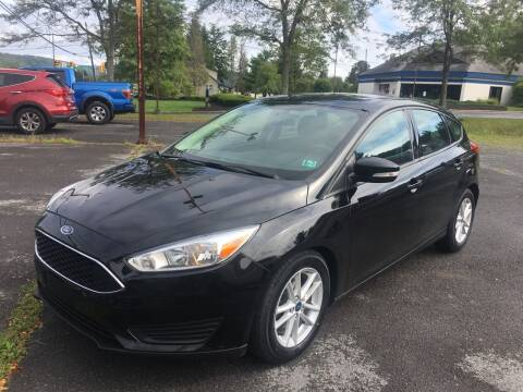 2016 Ford Focus for sale at K B Motors in Clearfield PA