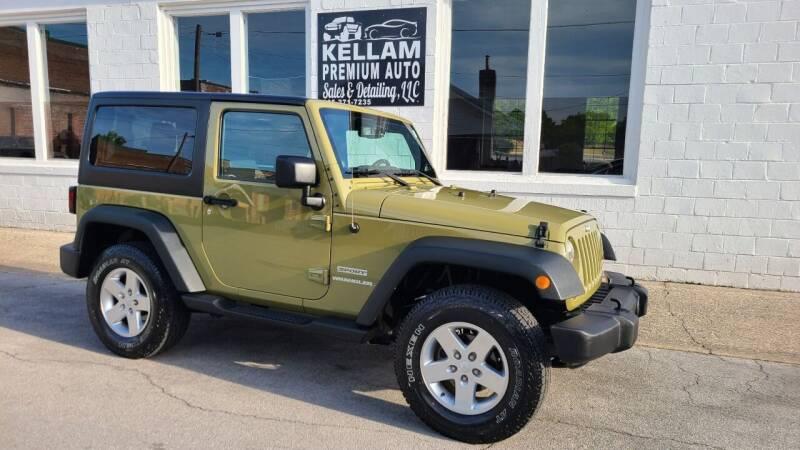2013 Jeep Wrangler for sale at Kellam Premium Auto Sales & Detailing LLC in Loudon TN