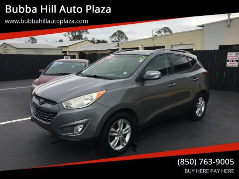 2013 Hyundai Tucson for sale at Bubba Hill Auto Plaza in Panama City FL