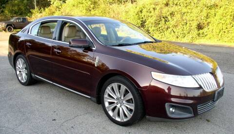 2009 Lincoln MKS for sale at Angelo's Auto Sales in Lowellville OH