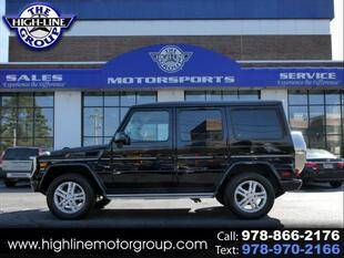2015 Mercedes-Benz G-Class for sale at Highline Group Motorsports in Lowell MA