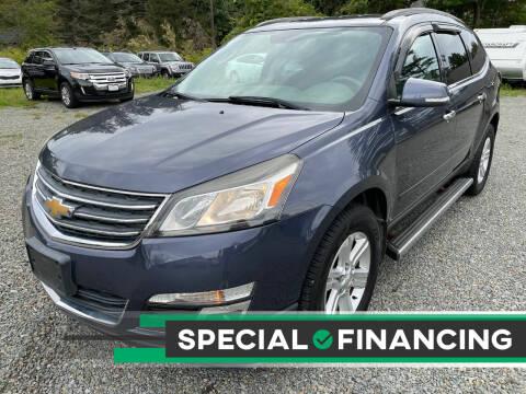 2013 Chevrolet Traverse for sale at Auto4sale Inc in Mount Pocono PA