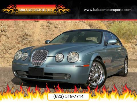 2005 Jaguar S-Type for sale at Baba's Motorsports, LLC in Phoenix AZ