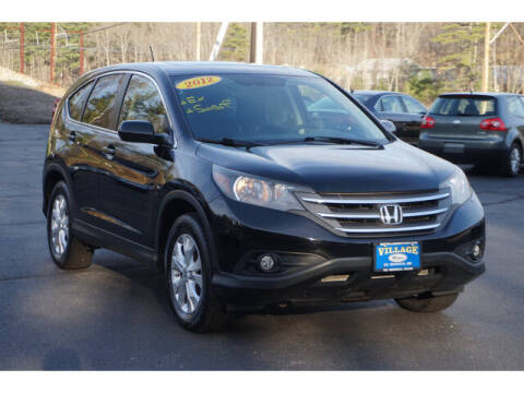 2012 Honda CR-V for sale at VILLAGE MOTORS in South Berwick ME