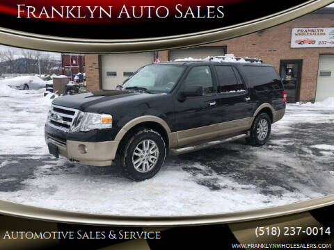 2014 Ford Expedition EL for sale at Franklyn Auto Sales in Cohoes NY