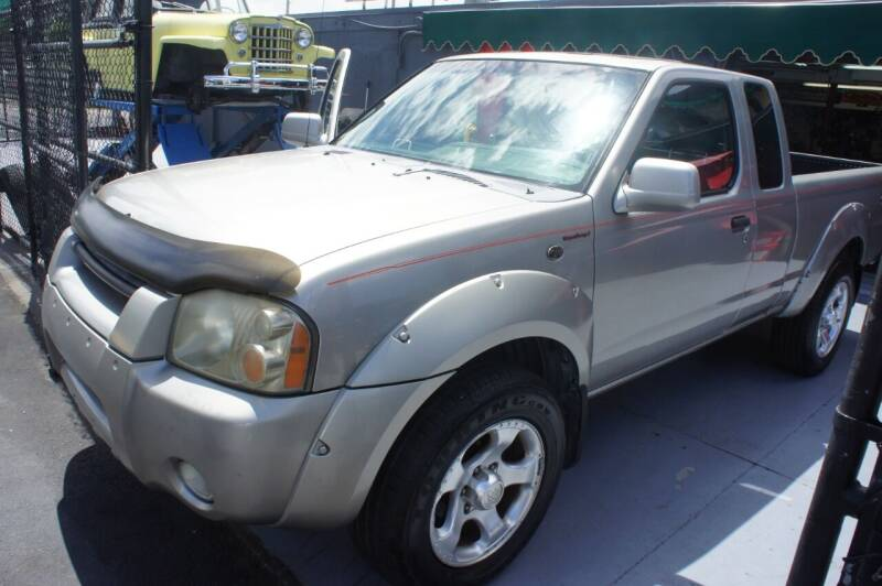 2001 Nissan Frontier for sale at Dream Machines USA in Lantana FL